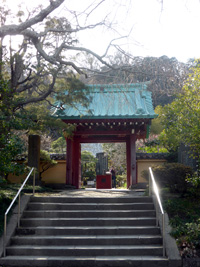 光則寺の入口写真